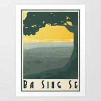 Ba Sing Se Travel Poster Art Print