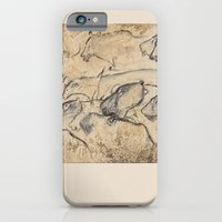iPhone Cases featuring  Aurignacian Art by anipani
