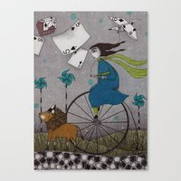 I Follow The Wind Canvas Print