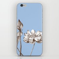 Floral Collotype, C1895 … iPhone & iPod Skin