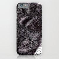 Cat Illustration iPhone 6 Slim Case