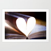 Love Books Art Print