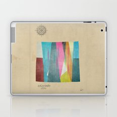colorado state map Laptop & iPad Skin