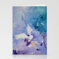 Strong Wind, Strong Will Stationery Cards