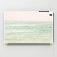 Nautical Red Sailboat iPad Case