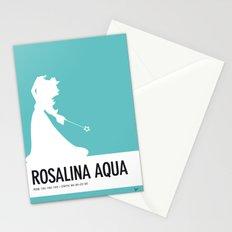No39 My Minimal Color Code poster Rosalina Stationery Cards