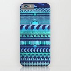 Aqua | Tribal Slim Case iPhone 6s