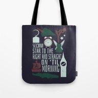 Peter Pan- Second Star T… Tote Bag