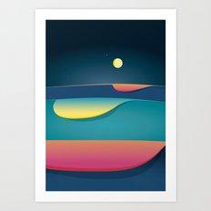 Venus is always there Art Print