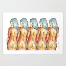 Lay, Lady, Lay Art Print