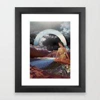 Summer's Coming Framed Art Print