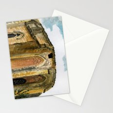 red stone charm Stationery Cards