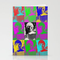 Science Officer (Overload Remix) Stationery Cards