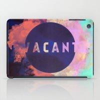 Vacant - Galaxy Eyes & Garima Dhawan Collaboration (VACANCY ZINE) iPad Case