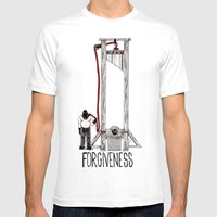 FORGIVENESS Mens Fitted Tee White SMALL