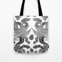 Serpent's Choir Tote Bag