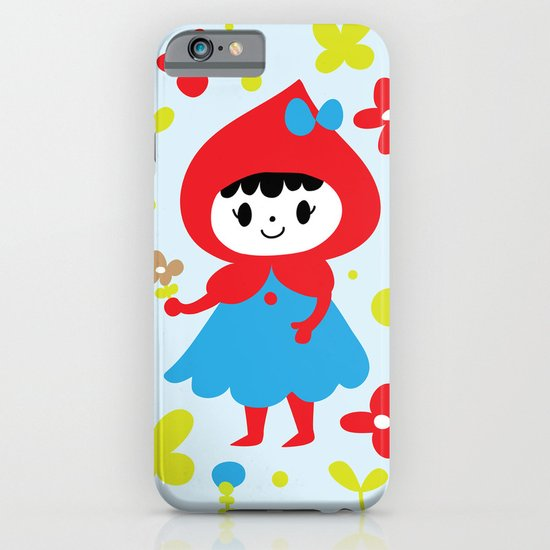 Red Riding Hood in the Forest iPhone & iPod Case