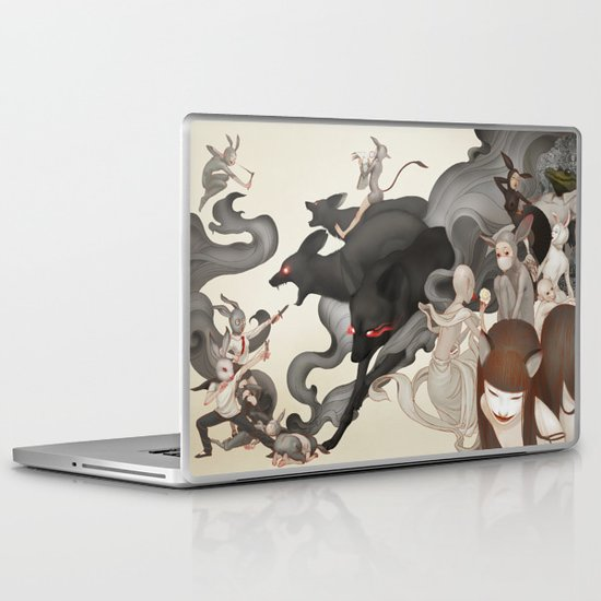 Internal Conflict Laptop & iPad Skin