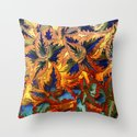 colorful foliage Throw Pillow