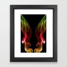 Smoke Photography #13 Framed Art Print
