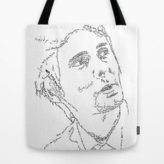 Matthew Bellamy WordsPortrait Tote Bag