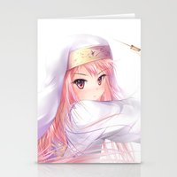 ANIME AND SWARD Stationery Cards