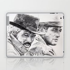 butch cassidy and the sundance kid Laptop & iPad Skin
