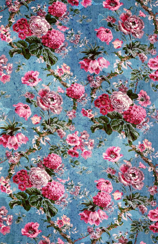 Flowers in the Sky Art Print