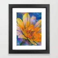Dream-Flower Framed Art Print