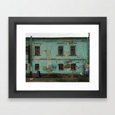 UMAN - WALKING Framed Art Print