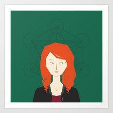 Amy Pond Art Print