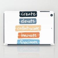 Create Elevate Collaborate Innovate Fascinate iPad Case