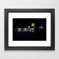 Funky Cincinnati  Framed Art Print