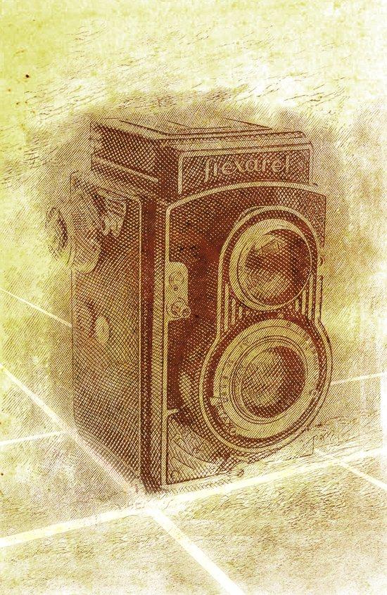Old Camera Art Print