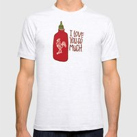 TRUE LOVE Mens Fitted Tee Ash Grey SMALL