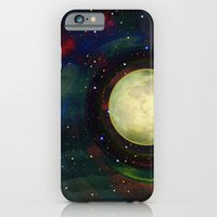 iPhone Cases featuring Fabulous Moon by Klara Acel