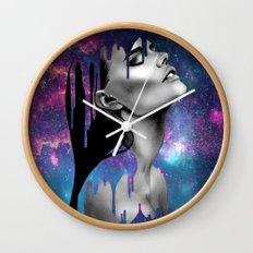 Paint Rain Wall Clock