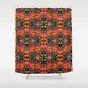 Dragon's tail pattern Shower Curtain