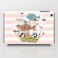 Bathtub Trip iPad Case
