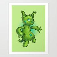 Toydog Art Print