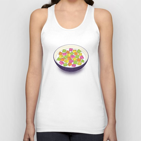 A Balanced Brickfast Unisex Tank Top