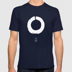 ENSO IN JAPAN Mens Fitted Tee Navy SMALL