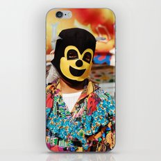 Enmascarado iPhone & iPod Skin