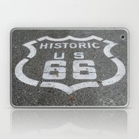 Route 66 Sign On The Roa… Laptop & iPad Skin