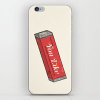 That gum you like is going to come back in style. iPhone & iPod Skin