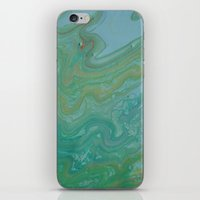 iPhone & iPod Skin featuring the rivers of the world by Jelly and Paul