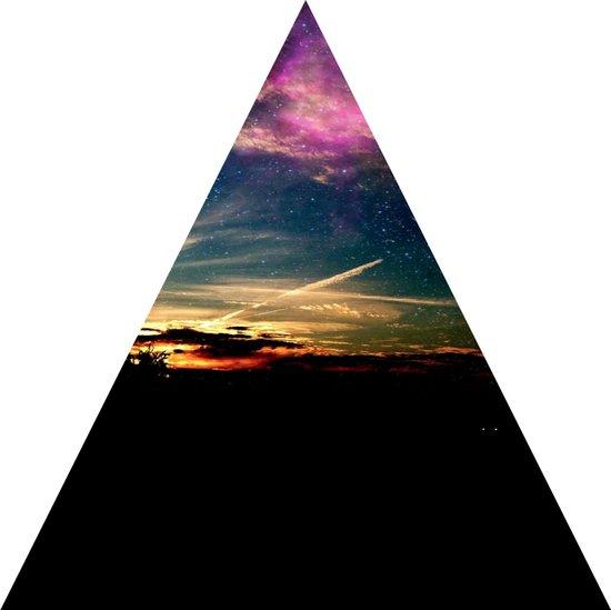 roadtrip triangle Art Print