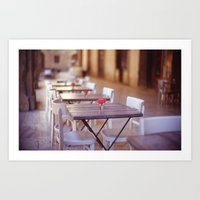 Tuscany Rose Art Print