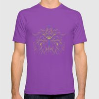 Mysticowl Mens Fitted Tee Ultraviolet SMALL