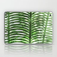 Laptop & iPad Skin featuring Tropical Palm by Cafelab